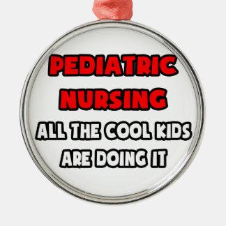 Funny Pediatric Nurse Shirts and Gifts Christmas Ornaments