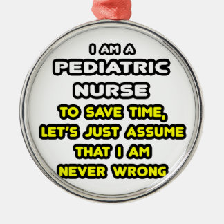 Funny Pediatric Nurse T-Shirts and Gifts Christmas Ornaments