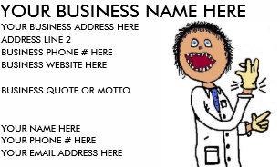 Pediatrician Business Cards Zazzle