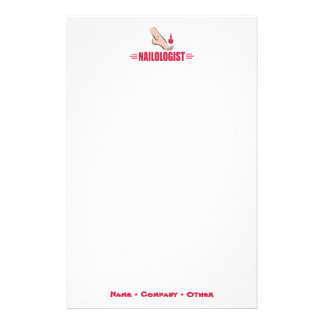 Funny Pedicure Custom Stationery