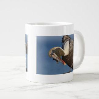 Funny Pelican Giant Coffee Mug