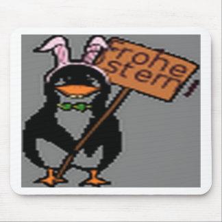 Funny Penguin design Mousepads