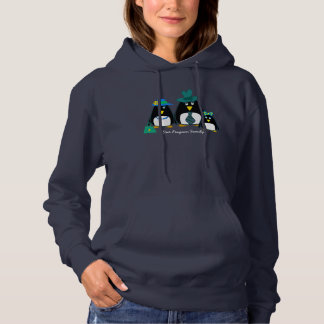 Funny Penguin Family of 3 Hoodies for all family