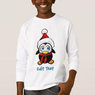 Funny Penguin Santa Claus T-Shirt