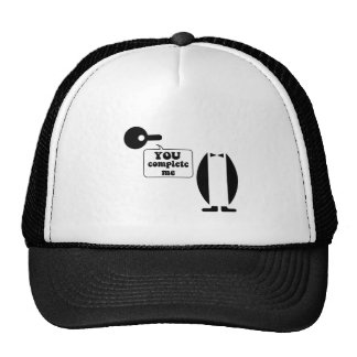 Funny penguin trucker hat