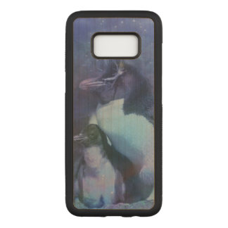 Funny Penguins in Tuxedos Carved Samsung Galaxy S8 Case
