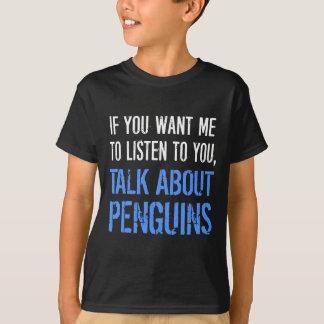 Funny Penguins T Shirt