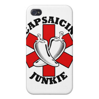 Funny Pepper Junkie $40.95 IPhone 4 Case