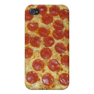 funny pepperoni pizza iPhone 4 cases