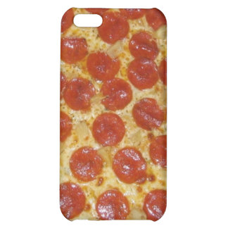 funny pepperoni pizza case for iPhone 5C
