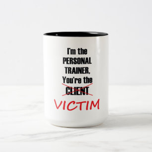 Funny Personal Trainer Fitness Workout Mug