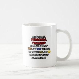 Funny Personal Trainer ... OMG WTF LOL Coffee Mug