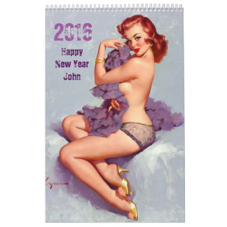 FUNNY Personalised Calendar FOR HIM