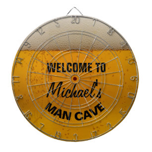bb93969d Funny Personalized Beer themed man cave dart board