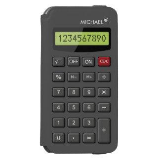 Funny Personalized Calculator Unique Look Incipio Watson™ iPhone 6 Wallet Case
