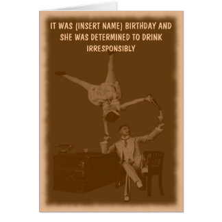 Funny personalized card
