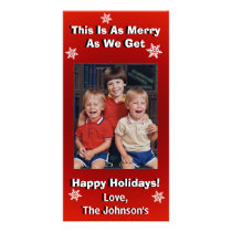 Funny Personalized Christmas Card