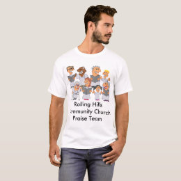 Funny Personalized Church Choir T-Shirt