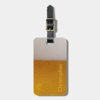 Funny Personalized Cold Beer Bag Tag