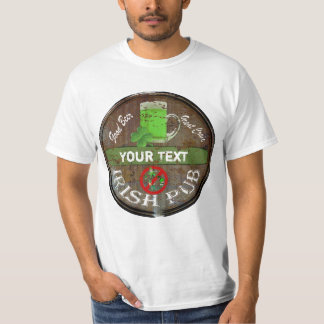 Funny Personalized Irish pub sign T-Shirt