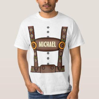 Funny Personalized Lederhosen Oktoberfest Shirt