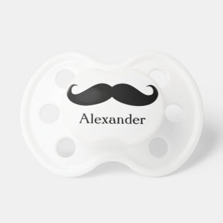 Funny Personalized Mustache Pacifier