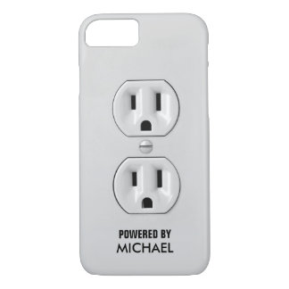 Funny Personalized Power Outlet iPhone 8/7 Case