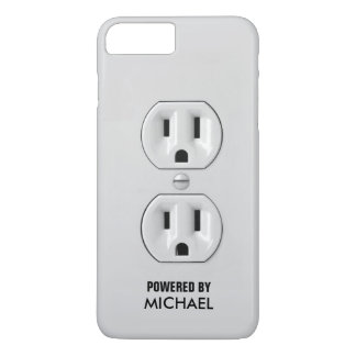 Funny Personalized Power Outlet iPhone 8 Plus/7 Plus Case