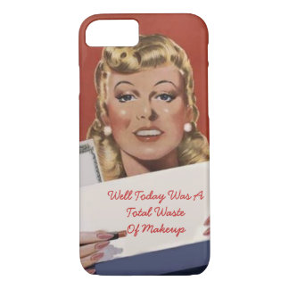 Funny personalized woman iPhone 8/7 case