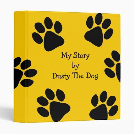 Funny Pet Dog Customizable Photo Scrapbook Binder
