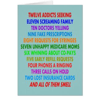 Funny Pharmacist Christmas Cards