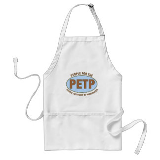 "Funny Pharmacist Gifts Unique ""PETP"" Deisgn Adult Apron"