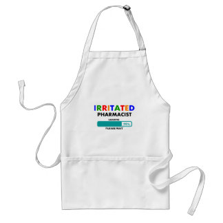 Funny Pharmacist Loading T-Shirts Adult Apron