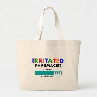 Funny Pharmacist Loading T-Shirts Large Tote Bag