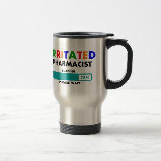 Funny Pharmacist Loading T-Shirts 15 Oz Stainless Steel Travel Mug