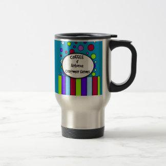 """Funny Pharmacist Mug """"Coffee and Customer Germs"""""""