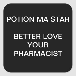 FUNNY PHARMACIST STICKERS