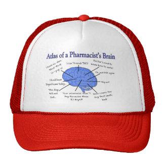Funny Pharmacist's Brain Gifts Mesh Hat