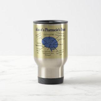 Funny Pharmacist's Brain Gifts 15 Oz Stainless Steel Travel Mug