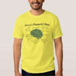 Funny Pharmacist's Brain Gifts T-shirt