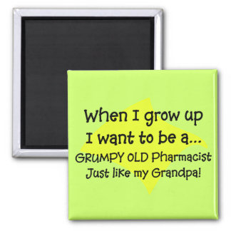 Funny Pharmacist's Grandkids T-Shirts 2 Inch Square Magnet