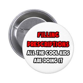 Funny Pharmacy Technician Shirts Button
