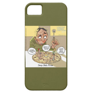 Funny Philosophy Deep Dish Pizza iPhone 5 Case