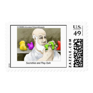 Funny Philosophy Postage Stamps (set of 20)