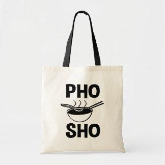 Funny Pho Sho tote bag