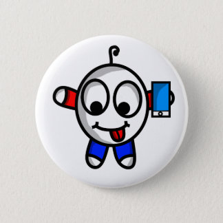funny phone dude button