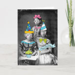 "Funny photo Birthday Card<br><div class=""desc"">A vintage photograph with graphics over it to make a funny birthday card