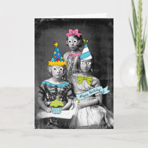 Funny photo Birthday Card