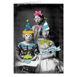 Funny photo Birthday Card