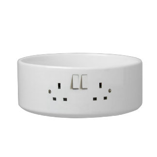 Funny Photo of UK Electrical Outlet Bowl